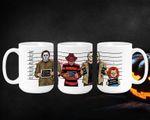 Horror, Halloween Mugs, Horror Movie, Scary Mugs, Cult Classic Horror Mugs