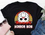 Horror Mom Shirt, Jason Voorhees Shirt, Friday the 13th, Halloween Shirt, Movie Lover, Mom Gift, Horror Film
