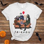 Halloween Funny Horror Friends Shirt, Halloween Horror Movie Killers,Horror Halloween Squad,Friends Halloween Shirt