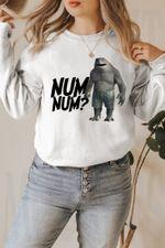 King Shark The Suicide Squad Funny Num Num Sweatshirt , Suicide squad 2 Sweatshirt