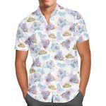 Watercolor Cinderella Disney Inspired - Short-Sleeve Hawaiian Aloha Shirt