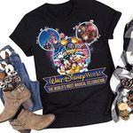 2021 Gift Walt DisneyWorld 50th Anniversary The Worlds Most Magical Celebration Disney World Friends Family Trip Unisex Shirt