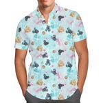 Watercolor Minnie Mermaids - Disney Inspired - Short-Sleeve Hawaii Shirt