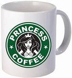 Funny Coffee Mug Princess Coffee - Princess disney coffee funny mug