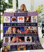 Hocus Pocus Blanket, Home Bedroom Decor, Gift Idea For Fans, Halloween Blanket