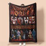 Personalized Name This Is My Horror Movie Watching Blanket| Halloween Blanket