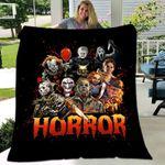 Horror Movie Halloween Horror Movie Characters Blanket
