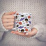 Halloween With Coffee Mug, Halloween Fall Gift Mug