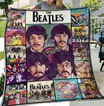 The Beatles Aniversary Art Blanket, Blanket For Fans, Gift For Best Family Blanket