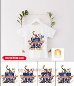 Personalized Space Jam 2 shirt - A New Legacy Lebron James Birthday Shirt, Tune Squad Family Shirt, Basketball Shirt, Looney Tunes Shirt, Michael Jordan Shirt