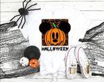 Disney Halloween Shirt, Pumpkin Mickey Shirt, Halloween Party Shirt, Spiderweb Design Tee, Fall Mouse Shirt