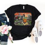 Halloweentown University shirt, Sanderson sisters shirt, halloween town shirt, Pumpkin mickey shirt, Mickey Halloween Shirt