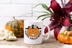 Happy Halloween Pumpkin Coffee Mug - Happy Spooky - Great Gift Idea for Halloween Lovers