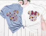 Disney Halloween Shirt, Halloween Party Shirt,Disney Couple Shirt, Disney Boo Shirts, Mickey Minnie Shirt, Pumpkin mickey shirt