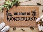 Welcome To Wonderland Doormat - Alice In Wonderland Doormat