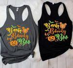 Bippity Boppity Boo tank, Pumpkin tank top, Disney halloween premium tank top