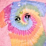 Sailor Moon Anime Eyes, Tie Dye T-Shirt, Sailor Moon, Sailor Guardians, Anime, Anime Shirt, Usagi Tsukino, Anime Lovers Gift