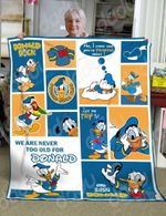 I'm Donald Duck Blanket | We Are Never Too Old For Donald | Donald Disney Blanket Gift