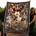 Mickey The World Of Machine And Technology Blanket | Cool Mickey Cowboys Disney Blanket | Birthday Gift For Kids