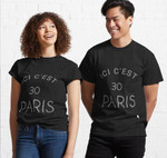ICI C'EST PARIS, Messi In Paris Shirt, Messi PSG Gift  Perfect Gift For you and friends Classic T-Shirt