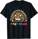 Back to school 2021 - First Grade Leopard Rainbow1st Grade BTS Youth Adult T-Shirt