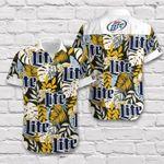 Miller Lite Hawaii Shirt / Miller Lite Aloha Shirt / Gift For Miller Lite Lover/ Miller Lite Beach Shirt 668
