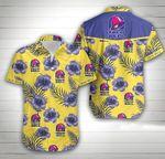 Taco Bell Hawaii Shirt / Taco Bell Aloha Shirt / Gift For Taco Bell Lover / Taco Bell Hawaiian Shirt / Taco Bell Beach Shirt