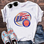 Miller Lite Beer Shirt   Lite Beer From Miller Patch   Dickies Work Shirt   Happy Beer Day gift