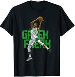 Basketball Shirt Basketball Final Freak Greek T-Shirt