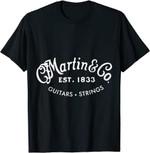 Martin Guitars Logo Merchandise T-Shirt