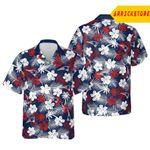 New England Patriots Hawaii Floral Football Unisex Shirt, New England Patriots Shirt