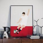 Owen Farrell England Rugby Poster
