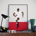 Maro Itoje England Rugby Poster