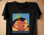 King Shark Shirt, Suicide Squad T-Shirt, Funny Nom Nom Shirt
