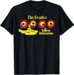 The Beatles Yellow Submarine Cartoon T-Shirt