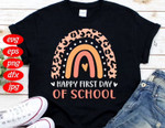 Back to school 2021 - Rainbow Happy First Day Of School BTS Youth Adult T-Shirt
