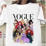 Disney Princess Shirt, Disney Princess Vogue Shirt, Cinderella Shirt, Ariel Shirt, Magic Kingdom Day