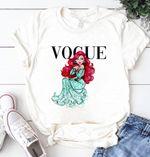 Disney Princess Ariel Shirt, Disney Princess Vogue Shirt