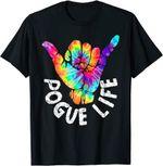 Pogue Life Shaka Hand Hang Loose Tie Dye T-Shirt
