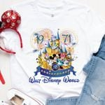 Walt Disneyworld 50th Anniversary shirt, Disney Vacation, Disney Trip Shirt