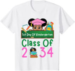 Back to school 2021 - Grow With Me Funny Class Of 2034 Kindergarten Youth Adult T-Shirt