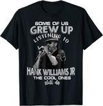 Bocephuss Retro Hank Jr Art Williams Tee Music Design T-Shirt