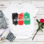 Afghan Flag Shirt, Afghanistan Peace Shirt, Afghan People Shirt, I stand with Afghan People Shirt, Afghani Shirt