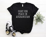 Fight For Afghanistan, Afghan Women, Afghanistan Peace Shirt, Freedom, Activism, Unisex Shirt