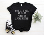 Pray for Afghanistan, Peace For Afghanistan, Fight For Afghanistan, Afghan Women T-shirt