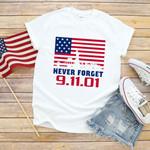 Never Forget Steptember Eleventh, Patriot Day Tshirt