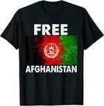 Afghanistan Flag Free Afghanistan T-Shirt