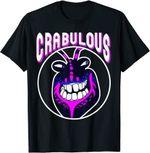 Disney Moana Tamatoa Crabulous Neon Face Circle Portrait T-Shirt