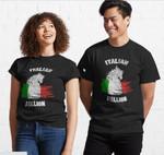 Italian Stallion shirt Italy horse funny gift Classic T-Shirt