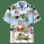 BABY YODA SUMMER TIME -  ADULT HAWAIIAN SHIRT